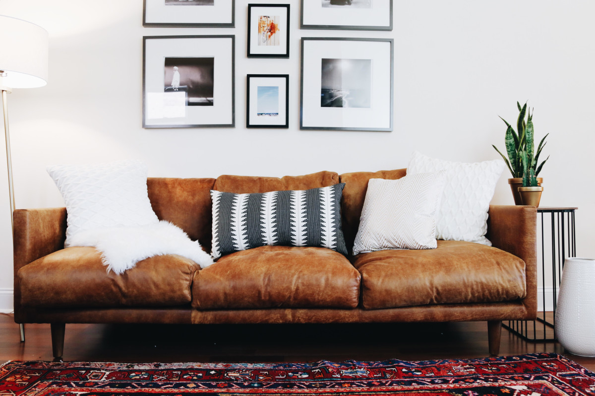 I Just Love The Color Of The Sofa In Contrast With A Rich Red Oriental Rug.  The Of My Favorite Things About The Nirvana Sofa Is That It Looks Really  Sleek, ...